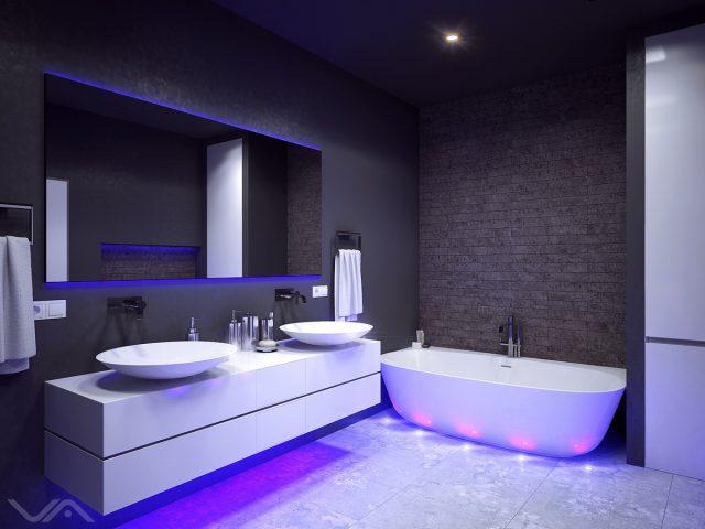 Хай-тек в ванной