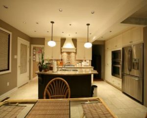 Как разделить кухню и гостиную на зоны