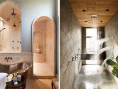 варианты дизайна ванных комнат