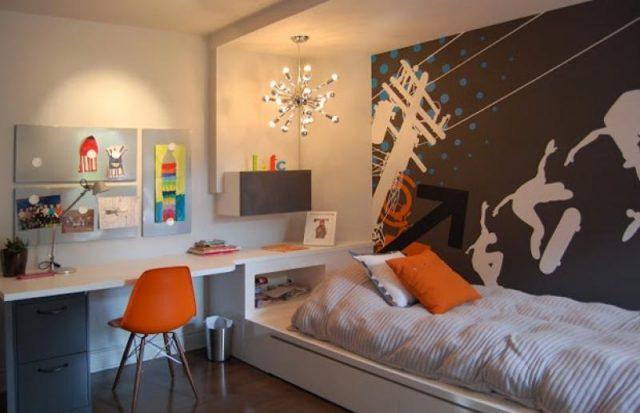 Дизайн детской комнаты для мальчика подростка