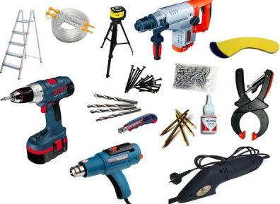 Натяжной потолок своими руками: инструменты