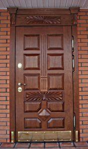 Двери металлические парадные