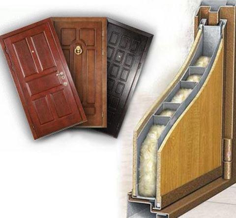 Входные металлические двери с шумоизоляцией