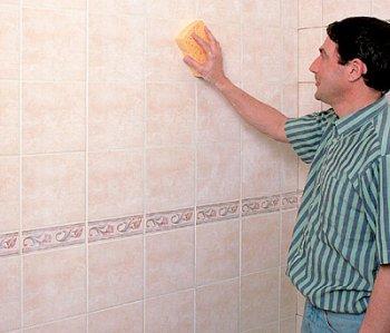 ПВХ панели отлично моются губкой с мылом