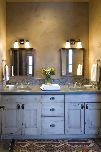 Натуральные отделочные материалы в ванной комнате
