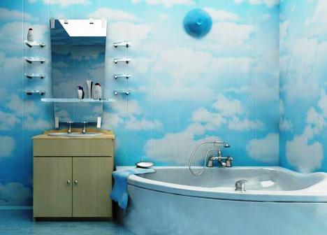 влагостойкие панели для ванной комнаты