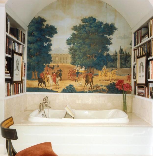 Красивые влагостойкие фотообои для ванной комнаты