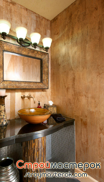 Декоративная штукатурка для ванны фото