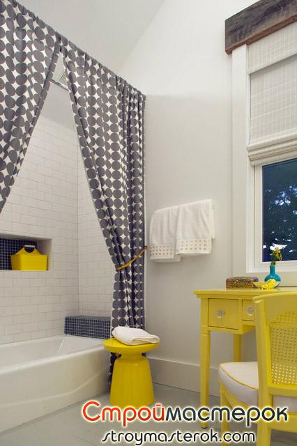 Цветная мебель для ванной комнаты