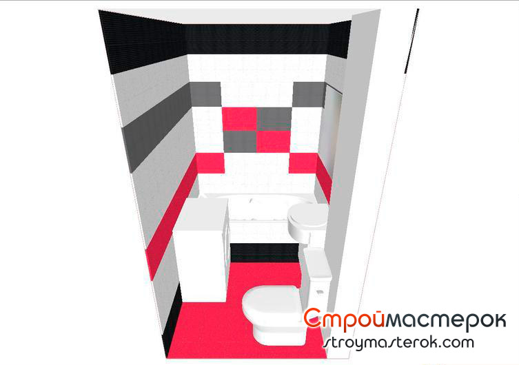 Дизайн ванной комнаты 2 2 м