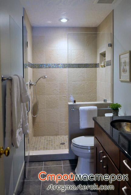 Дизайн маленькой ванной комнаты 3 кв.м