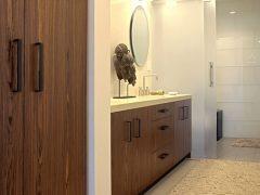 Стеклянные двери для ванной комнаты