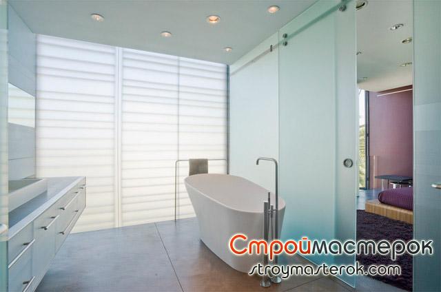 Стильный дизайн ванной комнаты