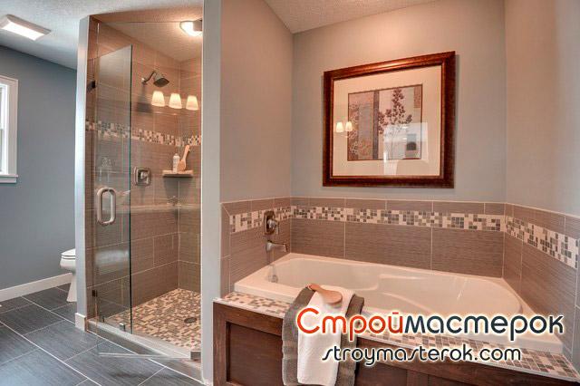 керамическая плитка мозаика для ванной