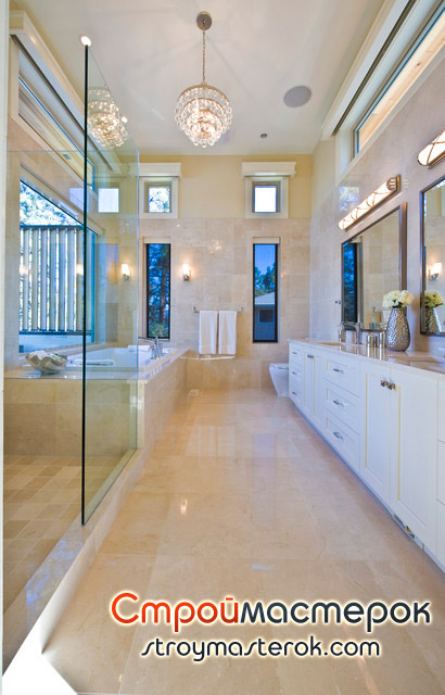 Люстры для ванных комнат