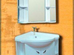 Угловой мойдодыр для маленьких ванных