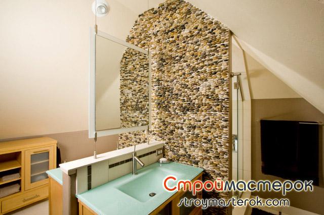 Изысканая стеклянная мебель для ванной комнаты