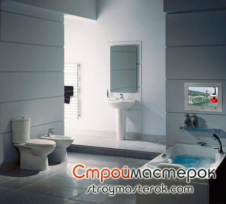 Телевизоры в ванную комнату