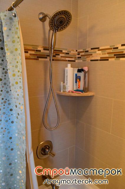 полка угловая для ванной