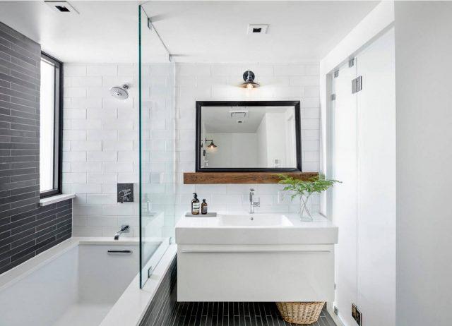 навесная мебель в ванную