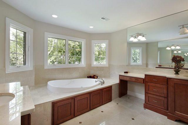 мебель в ванную из дерева
