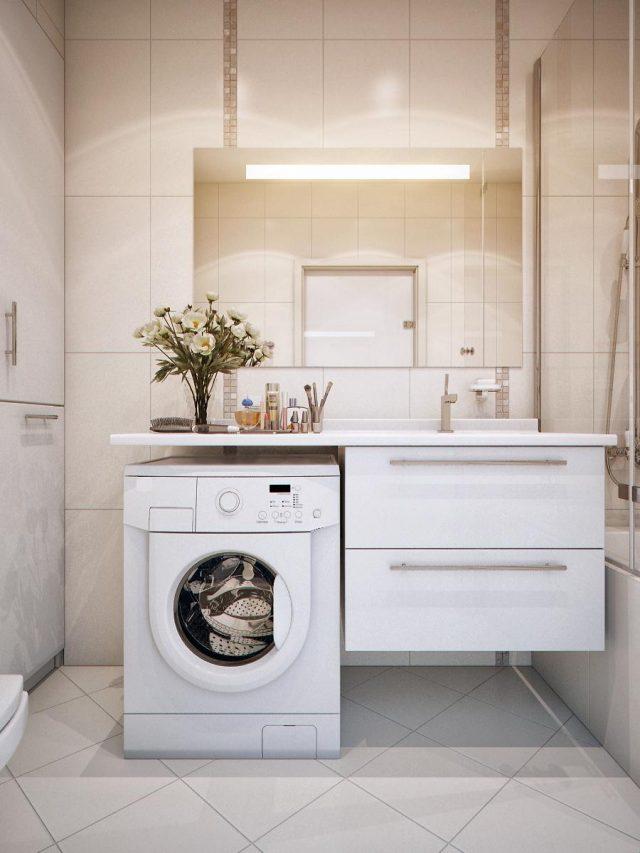 встроенная стиральная машинка