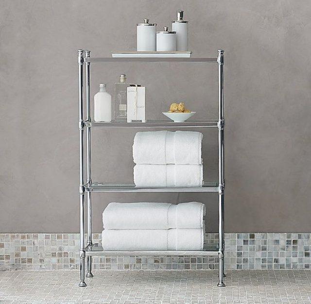 мебель в ванную, металл