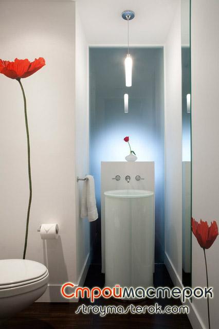 декоративные наклейки для ванной комнаты
