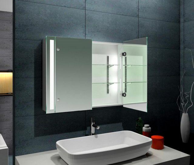 необычные зеркала для ванной