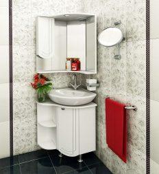 шкаф над раковиной в ванной