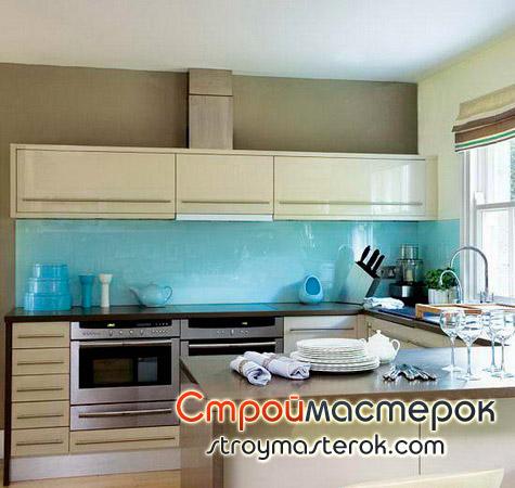 Прозрачные панели для кухни