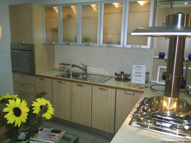 Кухонные фасады из алюминиевого профиля