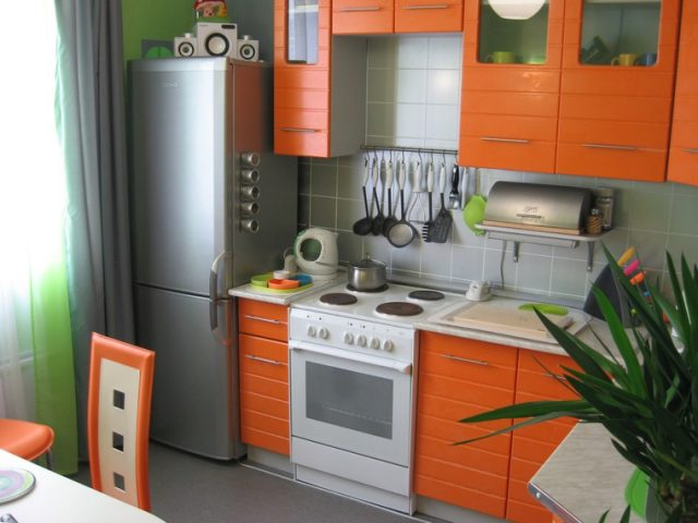 Современный стиль для кухни в хрущевке
