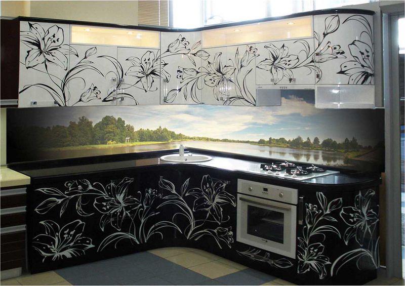 Фасады для кухни фото 10