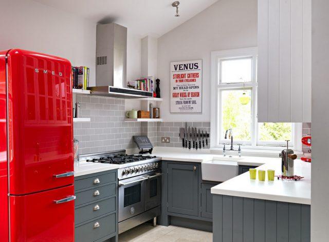 Цветовые решения для маленьких кухонь