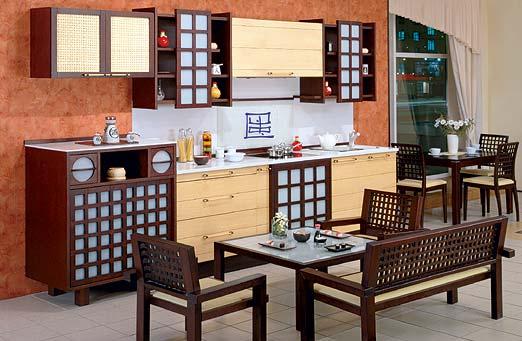Интерьер на кухне своими руками в Японском стиле