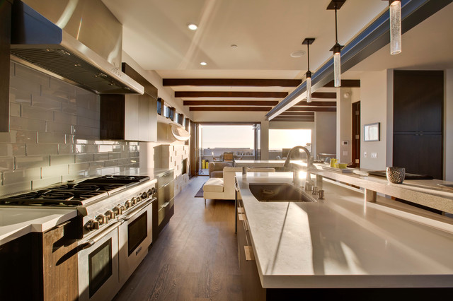 кухня в стиле хай тек034