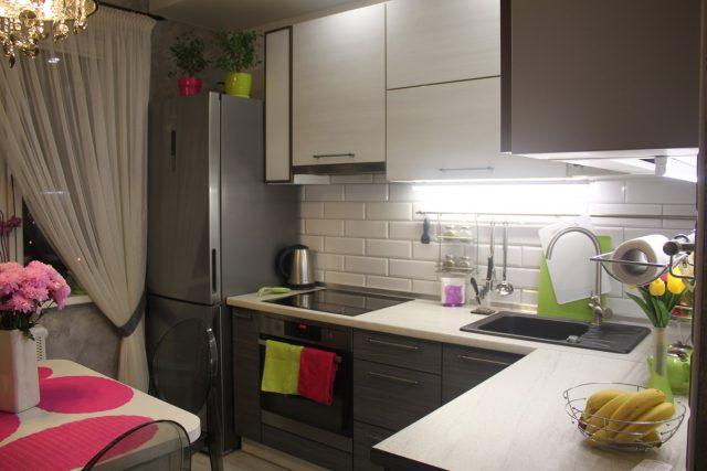 фото кухни 8 кв м