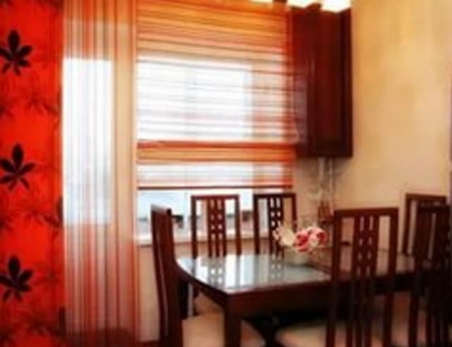 красивые римские шторы на кухню фото