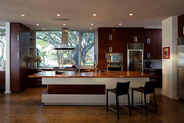 дизайн кухни студии фото 2014
