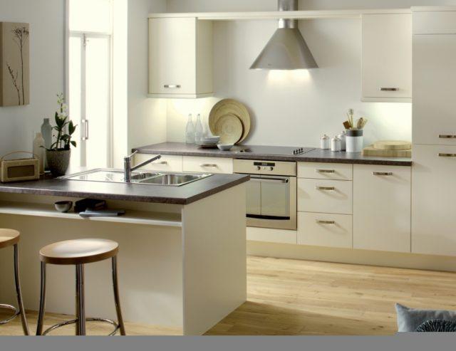дизайн проект кухни студии фото
