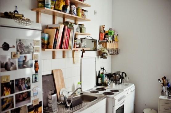 как оформить кухню недорого