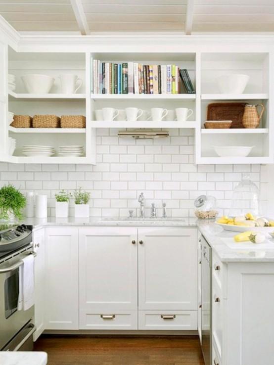 идея для маленькой кухни на даче