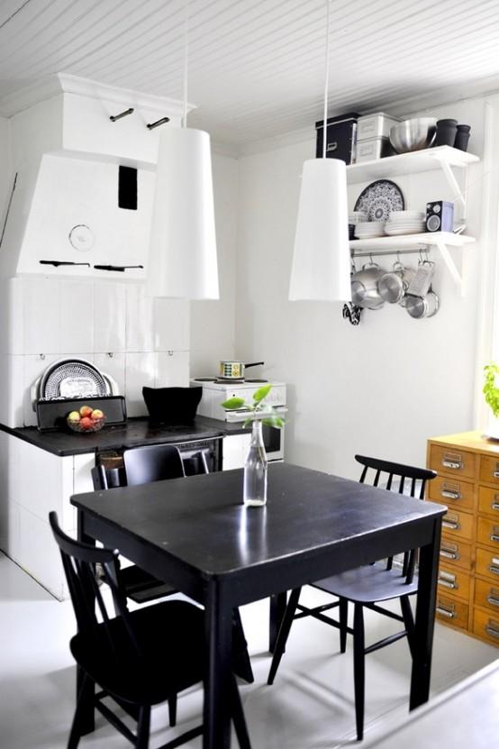 креативные идеи оформления кухни