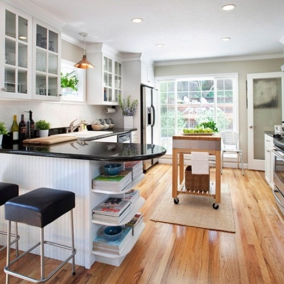 Идеи оформления кухни в частном доме