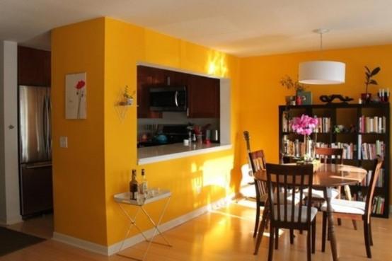 кухня гостиная дизайн
