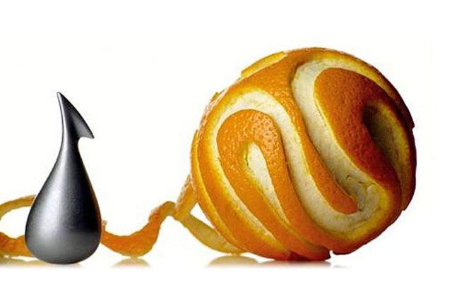 Гаджеты для чистки апельсинов