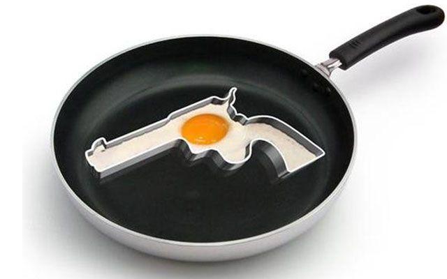 Гаджеты для кухни. Формочка для яичницы