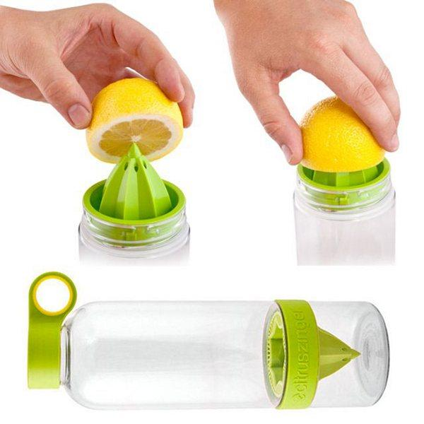 Гаджет для отжима лимона