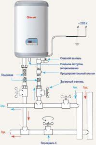 Схема как подключить водонагреватель